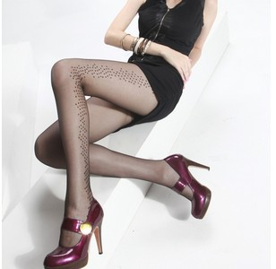 1 pcs   free shipping .Core wire pantyhose