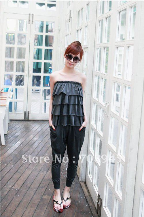1 Piece Best Selling!! summer Fashion Cozy women jumpsuit+Free shipping