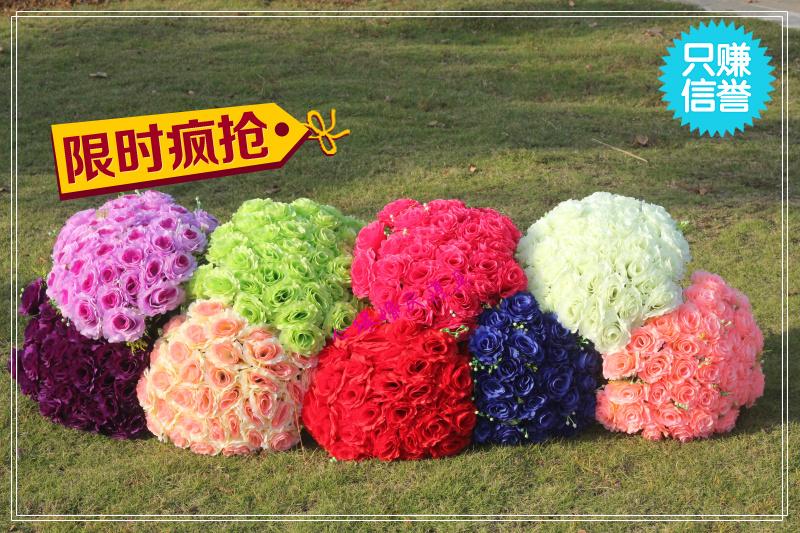 10 36 roll-up hem artificial rose silk flower bouquet wedding arch flower