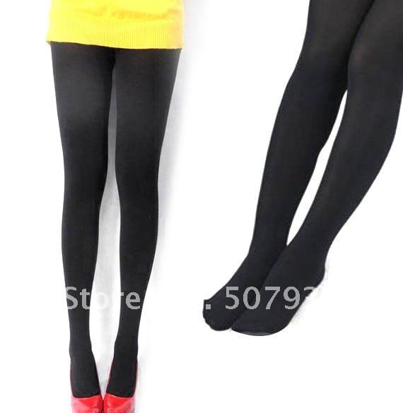 $ 10 OFF per $100 order+ New Women Sexy Design Micro Transparent Meat Bottoming Pantyhose Fashion