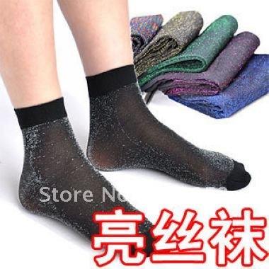 10 pairs/lot, free shipping,Ultra-thin filar acrylic socks,women's sexy socks wholesale Lc-01-324