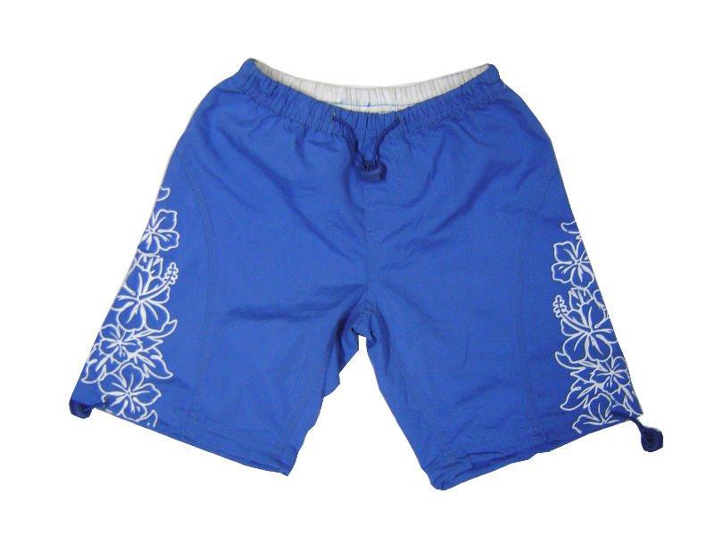 100% microfiber plain/ Printed microfiber tabby/100% polyester satin/peach microbibre children beach shorts