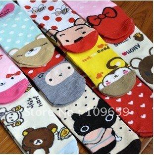 10pairs/lot,free shipping,casual socks cartoon women's socks wholesale CY-01-126