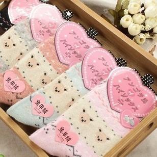 10pairs/lot Warm upset rabbit wool socks wool socks of design free shipping women socks many colors