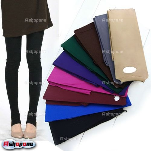 10x New Women Tights Pants Stirrup Leggings Stockings 9 Colors Free Shipping