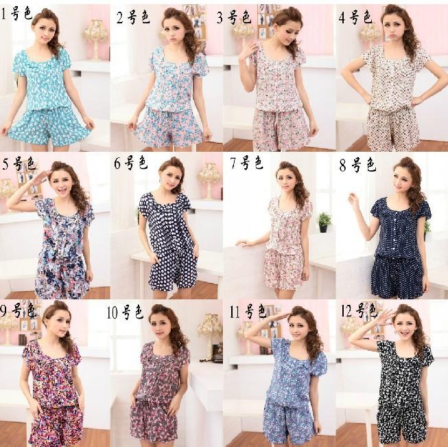 12 colors women cotton romper jumpsuit print casual short pants for women  free shipping 681