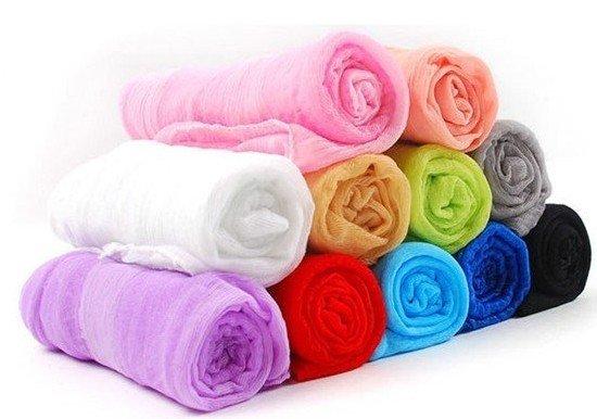 12pcs/lot women's scarf scarves Color mixing