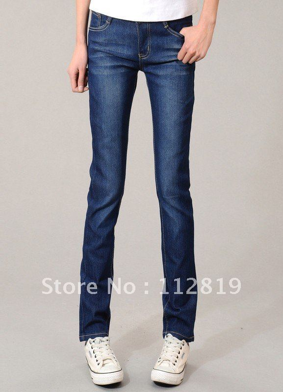 1pc 2012 new pencil pants han edition women's jeans wholesale  502,China post free shipping