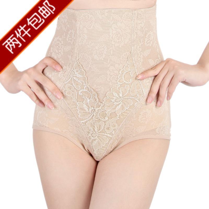 2 ! abdomen drawing pants body shaping pants high waist abdomen drawing panties butt-lifting body shaping panties women's