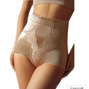 2 high waist abdomen drawing panties butt-lifting panties body shaping panties corset pants female