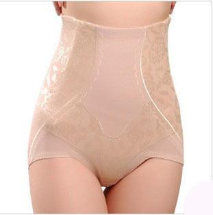2 high waist female body shaping pants seamless high waist abdomen drawing puerperal butt-lifting abdomen drawing panties corset