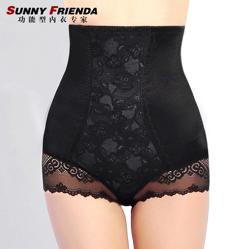 2 high waist postpartum abdomen drawing pants seamless abdomen drawing butt-lifting panties body shaping pants corset pants 2602