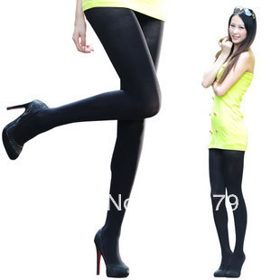 2 piece a lot free shipping 80d velvet pantyhose spring and autumn pantyhose thick meat leg tights