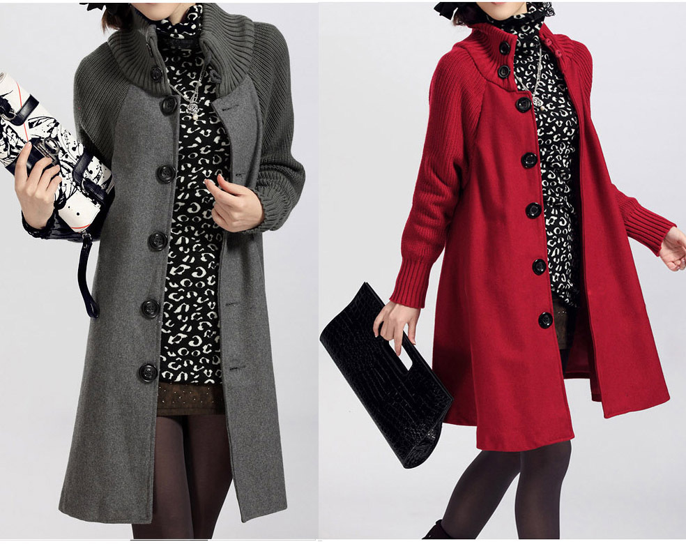 2012 autumn and winter maternity clothing loose plus size cloak long design fashion maternity trench outerwear 1 shop
