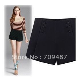 2012 Autumn and winter nibbuns Women's warm winter waist shorts