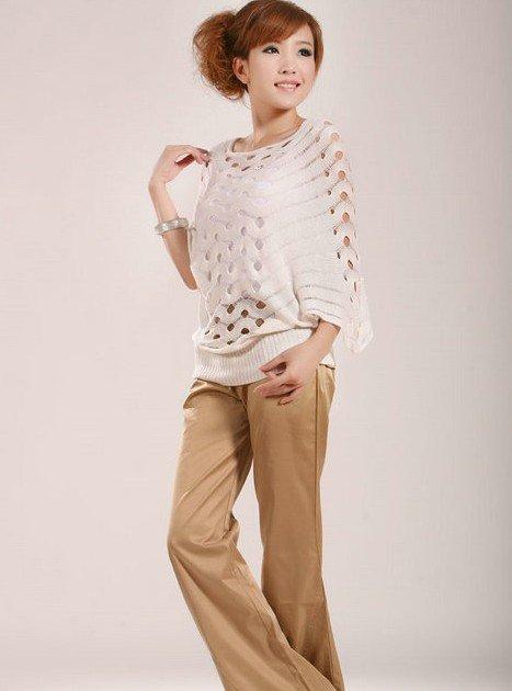 2012 Autumn Plus Size  Batwing Sleeve Shirt  Sun Protection  Women's Clothing  Free Shipping