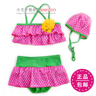 2012 child swimwear split swimwear hot-selling child swimwear