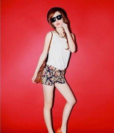 2012 , fashion shorts, totem shorts, one style, High waist shorts ,free shipping, wholesale D95-525-28-243