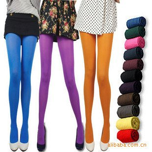 2012 fashion spring /summer Europe/America style candy color  velvet Pantyhose,unpacked,big save,2 lot 10% off