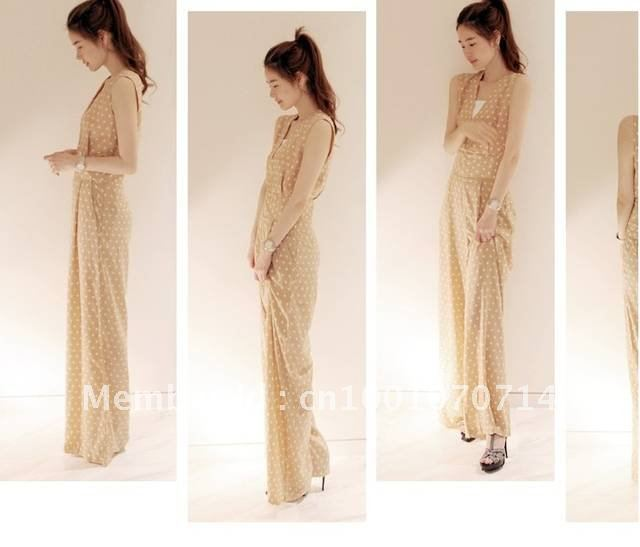 2012 fashion women jumpsuits pink and rompers free shipping V-neck slim long sexy harem pants wave top hot sell wholesale