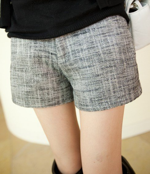 2012 Free shipping hot sale Fashion women lady autumn Linen shorts boots pants s711