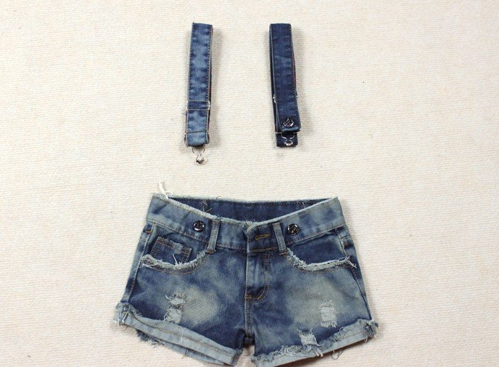 2012  Free Shipping Wholesale Summer  new fashion trendy women jeans shorts denim women  overlalls