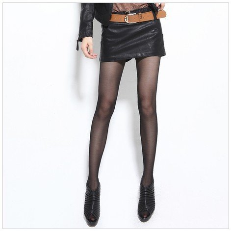 2012 Hitz fashion all-match PU leather shorts /PU leather skirt with belt