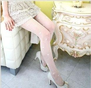 2012 hot tights,/lady's Fashion Elastic Pantyhose Stockings /Sexy Silk stocking Pantyhose white color