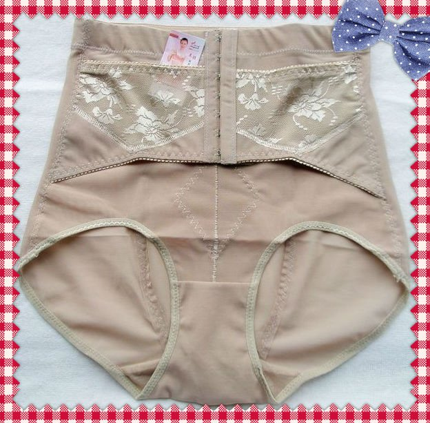 2012 Ladies Ultra-thin Ventilation Shapers for Summer,Control Panties (Beige/Black)