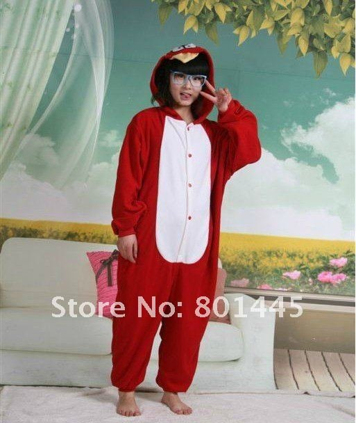 2012 long sleeve animal design adult romper nonopnd one piece stretchy sleepers fleece for 145~188cm free shipping
