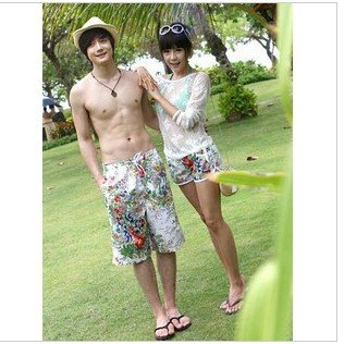 2012  lovers beach pants pants beach beach hot pants