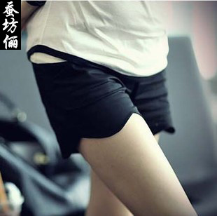 2012 maternity pants summer maternity shorts super shorts belly pants