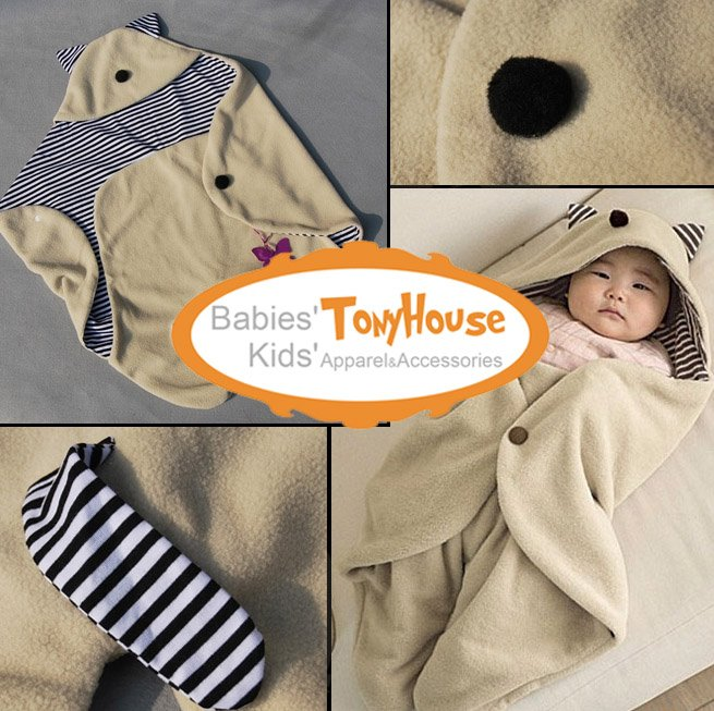 2012 New Arrival Gremlins blankets / baby sleeping bag children's clothing baby clothes blanket sleepers free shipping