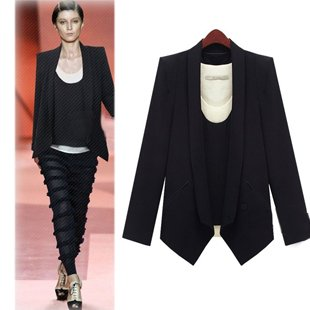 2012 new arrival, hot selling, one button, fashion long sleeve suit,women suit ,women's suit Size S,M,L,XL,XXL