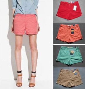 2012 new arrval fashion casual shorts pant hot item high quality brand design whole sale  free shipping