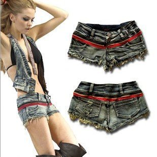 2012 new bull-puncher knickers Summer cool pants Ultra short sexy jeans