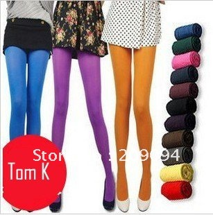 2012 new free shopping fashion sexy ladies' Thick Footless 120D  Tight leggings Warm Winter Slim Stretch Pants   pantyhose