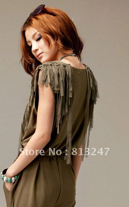 2012 new hot summer Fashion Cozy women clothes Piece shorts Lotus leaf corners ichthyosis cake jumpsuit Rompers Pants T-shirt