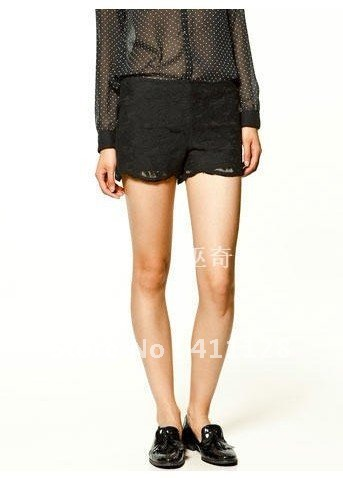 2012 new Lace fashion  shorts,  Short pants   quality goods