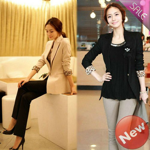 2012 new spring Slim Long suit Korean style free shipping   1pcs/lot wholesale 20120424