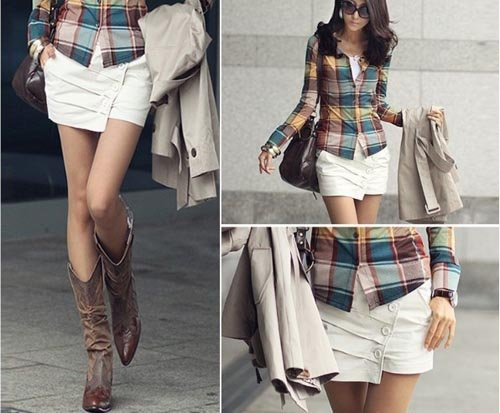 2012 new summer single-breasted office ladies shorts Korean style short women free shipping