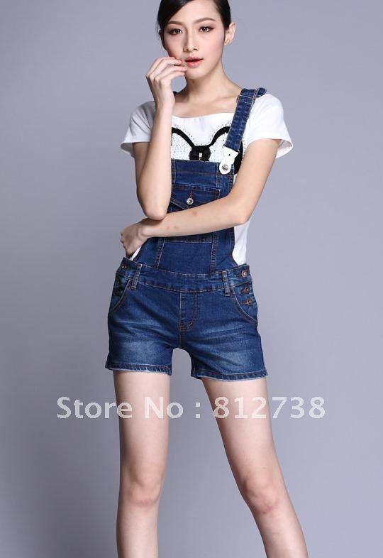 2012 new sweet wind women Bib shorts , women denim overalls ,women jumpsuits,free shipping