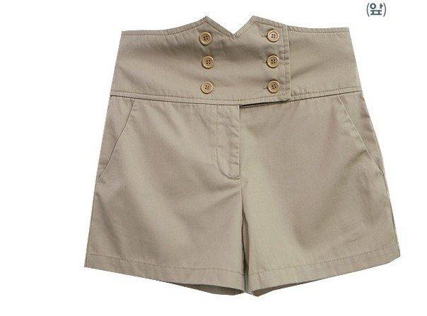 2012 Newest women's lace high waist shorts,free shipping, women casual shorts ,short pants,S M L  accept drop-shipping618-Q2312