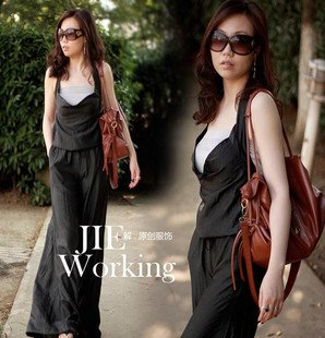 2012 Original Design Women Fashion Halter Overall, Ladies Jumpsuit Free Shipping