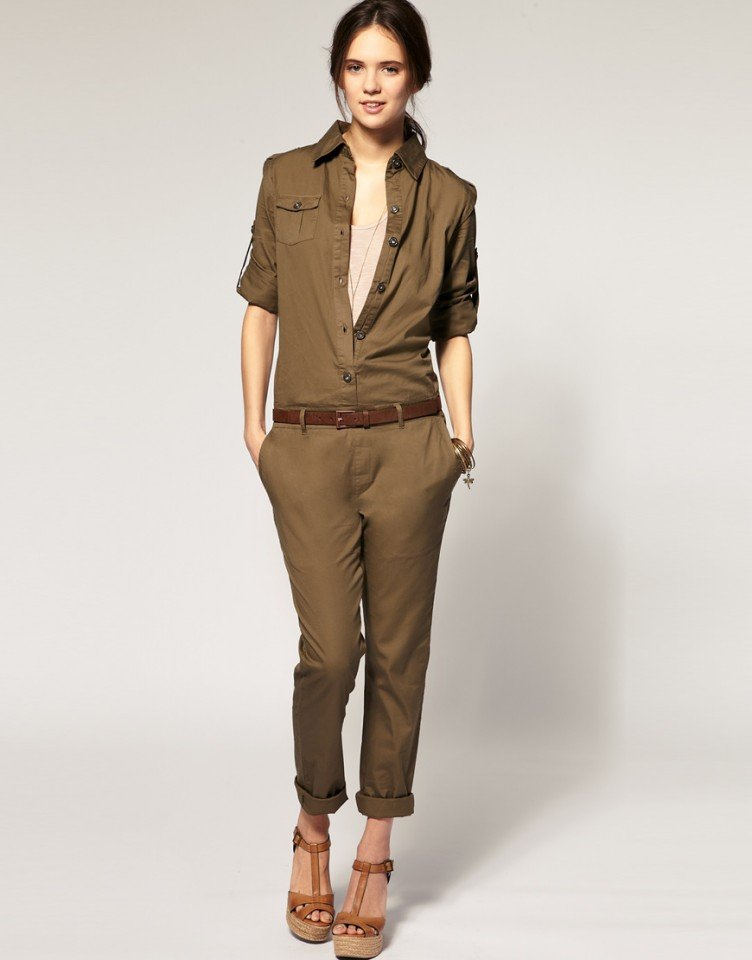 2012 S&S Stylish Overalls Jumpsuits With Pockets Women's Cotton Pants, Rompers With Free Belts Free Shipping