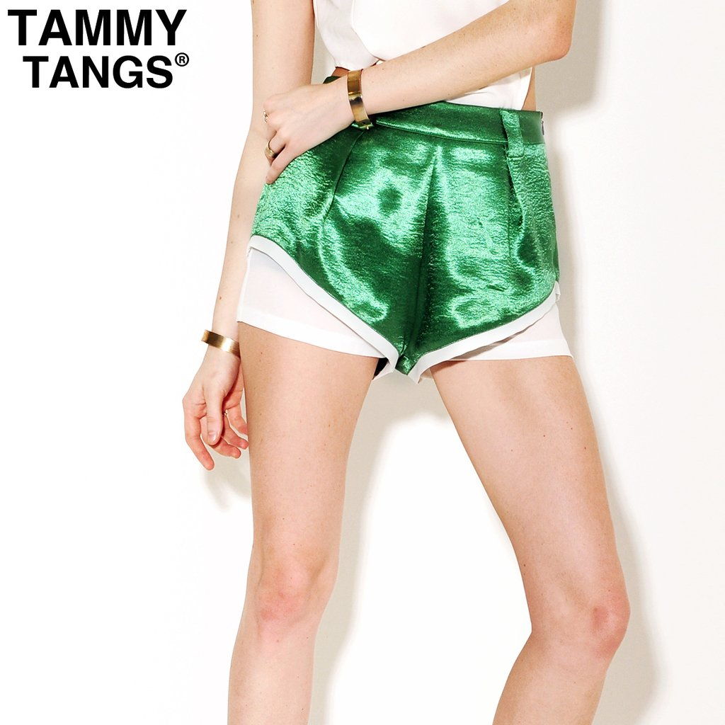 2012 summer candy beach shorts green vintage casual shorts