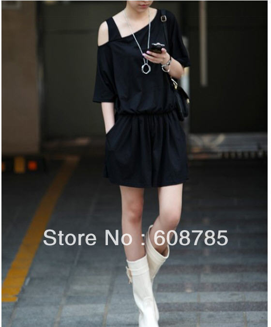 2012 summer new comfortable soft modal cotton  jumpsuit shorts free shipping B0051