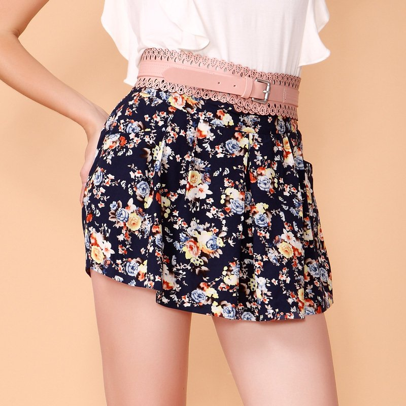 2012 vintage high waist shorts female casual hot trousers 1122060380