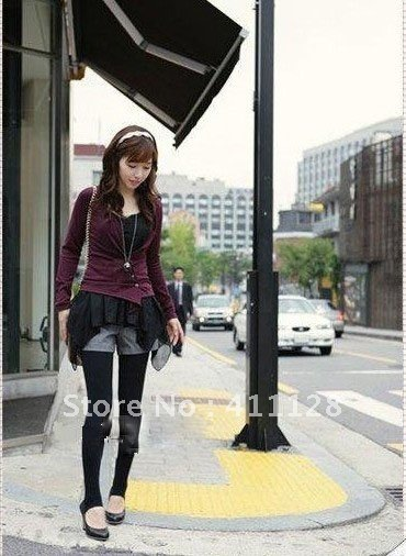 2012 Winter installed the Korean version of fashion casual wool shorts  wool culottes boots pants large size