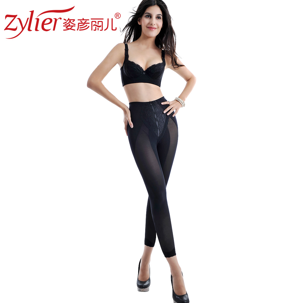 2012 winter new arrival thin body shaping beauty care pants abdomen drawing pants legging ankle length trousers sk11